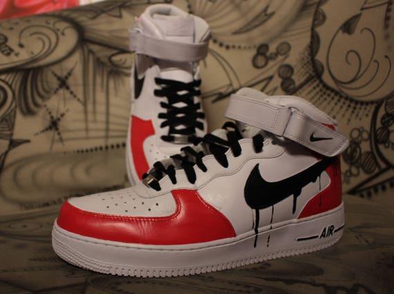 Custom Nike Air Force One CHUCKY