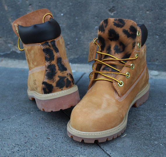 Custom Timberland Boots Leo Style