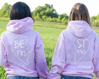 be615995 Best Friend Hoodie, Best Friend Hoodies, Matching best friend hoodies, BFF  Hoodie, Matching bff hoodies, Bestie hoodies, Price per item