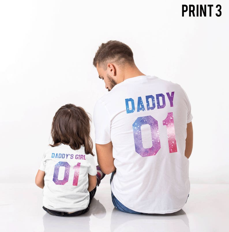 3c0e4d7c Father Daughter shirts Daddy Daddy's Girl 01 Father | Etsy