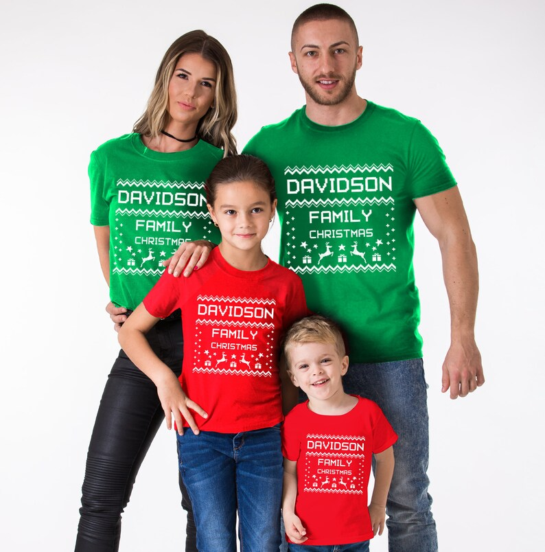 Ugly Christmas Family Pictures.Ugly Christmas Family Shirts Ugly Christmas Family Matching Ugly Christmas Family Family Christmas Christmas Shirts Price Per Item