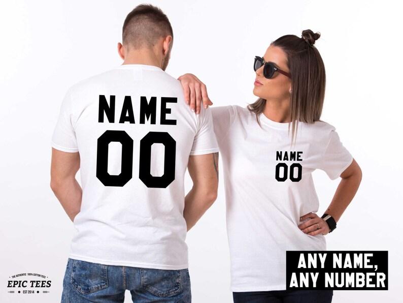 261ffe673284 Custom shirts Personalized name shirt Custom numbers shirt