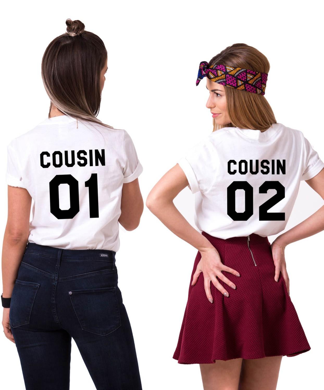 Cousin 01 Cousin 02 Shirts passende Cousins Shirts Cousin