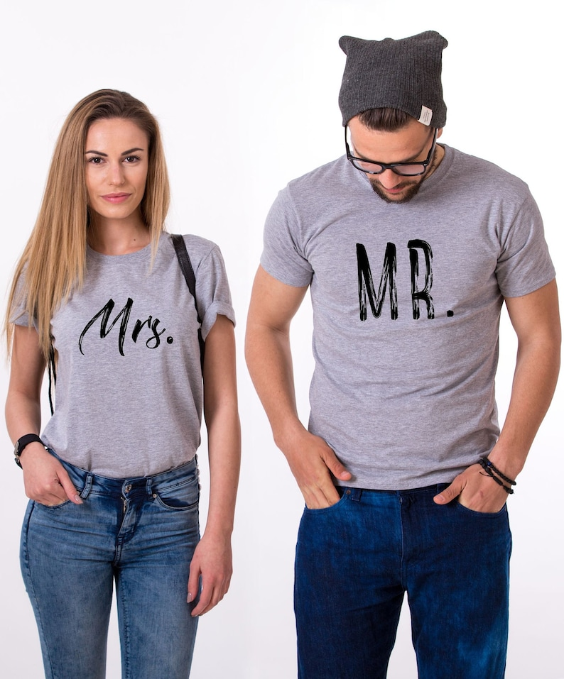 027394f09d Mr and mrs shirts Just Married Shirts Mr Mrs T-shirts | Etsy
