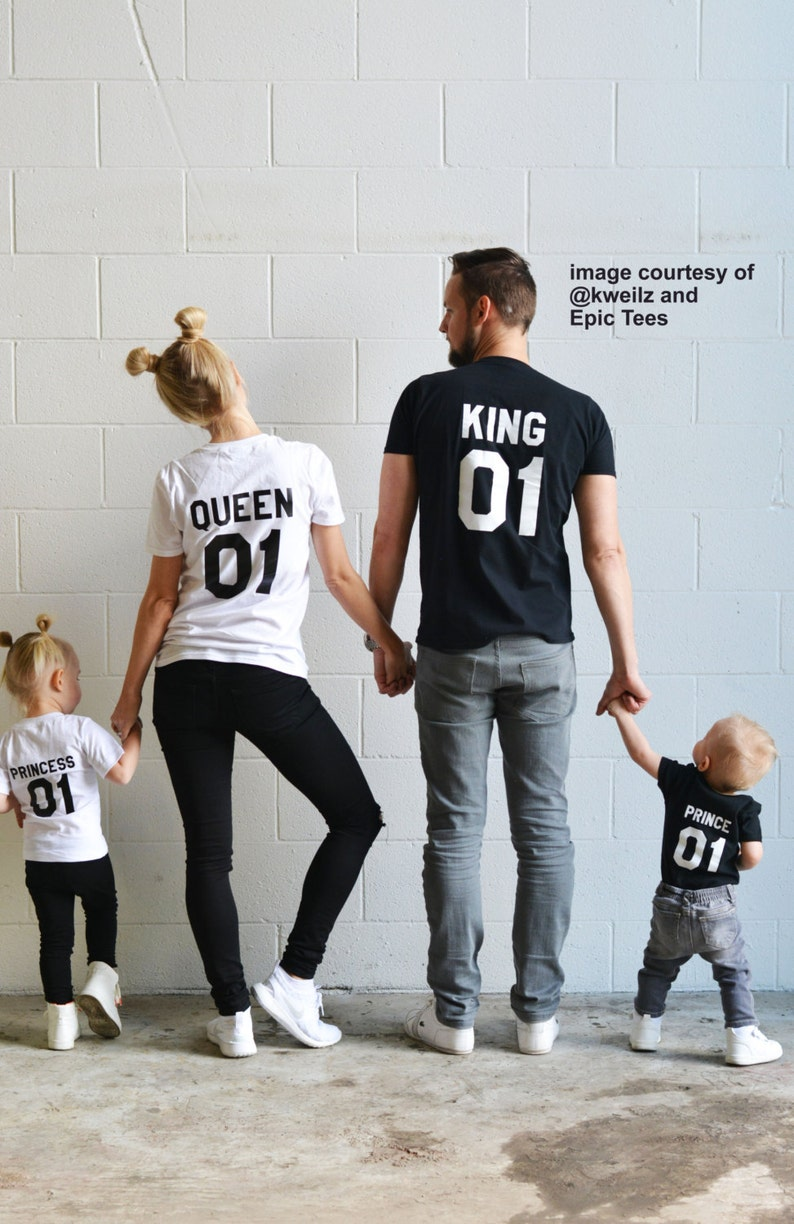 76661524 King Queen Prince Princess 01 Father Mother Daughter Son | Etsy