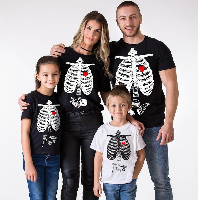 Skeleton Family Halloween Costumes.Family Halloween Shirts Matching Halloween Shirts Halloween Skeleton Shirt Halloween Shirt Unisex Price Per Item