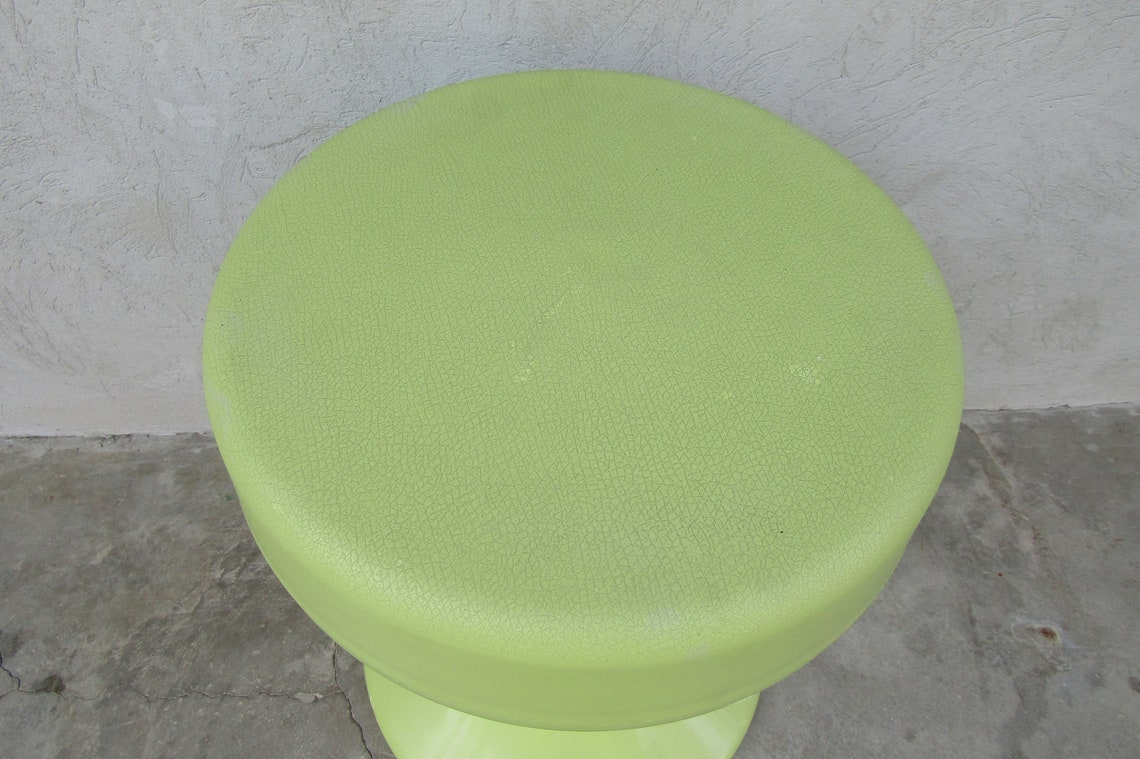 Vintage chair, west germany chair, green chair, palstic chair, retro chair, modernist chair, cool, gift idea