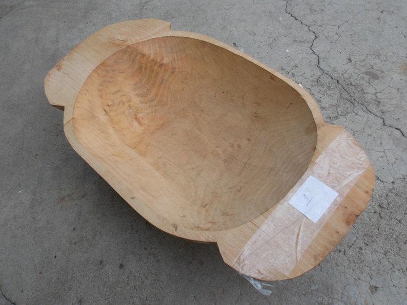 handmade bowl kitchen decor table decor bowl git wood bowl Wooden dough bowl gift idea small bowl 9 small dough bowl