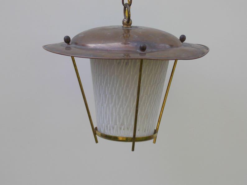 Plafoniera Ottone Vetro : Plafoniera applique luce in ottone e vetro cucina etsy