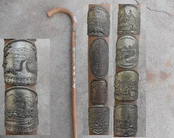 Walking cane, Walking stick, germany decor, germany walking cane, decor, home decor, wall decor, collector, gift, gift idea, retro 1950, 2