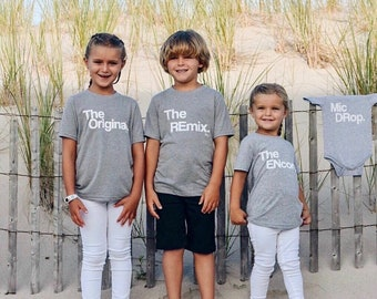 Family | Baby Announcement | Kids | Baby Bodysuit | Newborn | Toddler Tees | Youth Size | Shirts | Cute | Funny | Clothing | Coordinate
