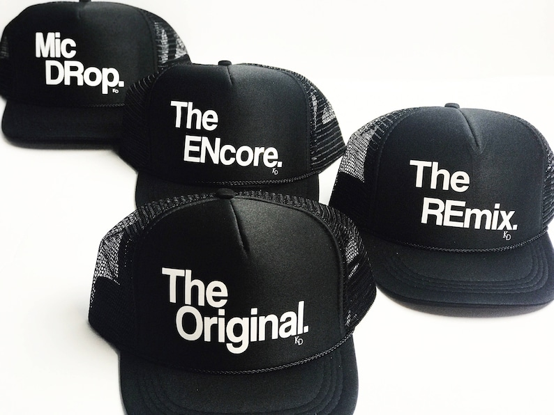 32d56fab930ac The Original The Remix The Encore Matching Set Hat