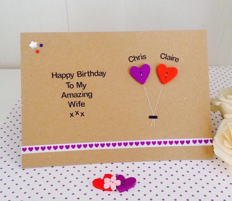 Happy Birthday Karte Für Frauen.Personalisierte Handgemachte Frau Geburtstag Karte Personalisierte Mann Geburtstagskarte Freund Freundin Verlobte Verlobte Geburtstagskarte