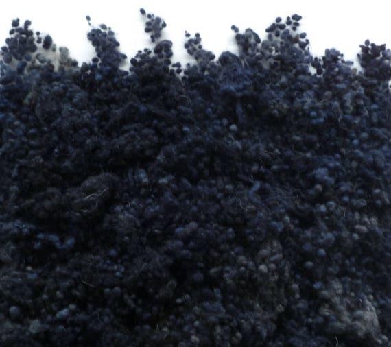 Hand Dyed Wool Nepps Lichen