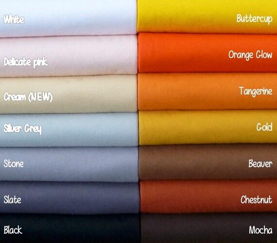 Black 12-30/% Wool Blend Felt