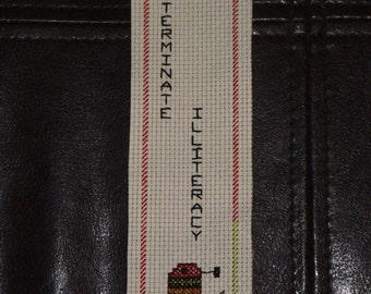 Handmade Dalek Bookmarks