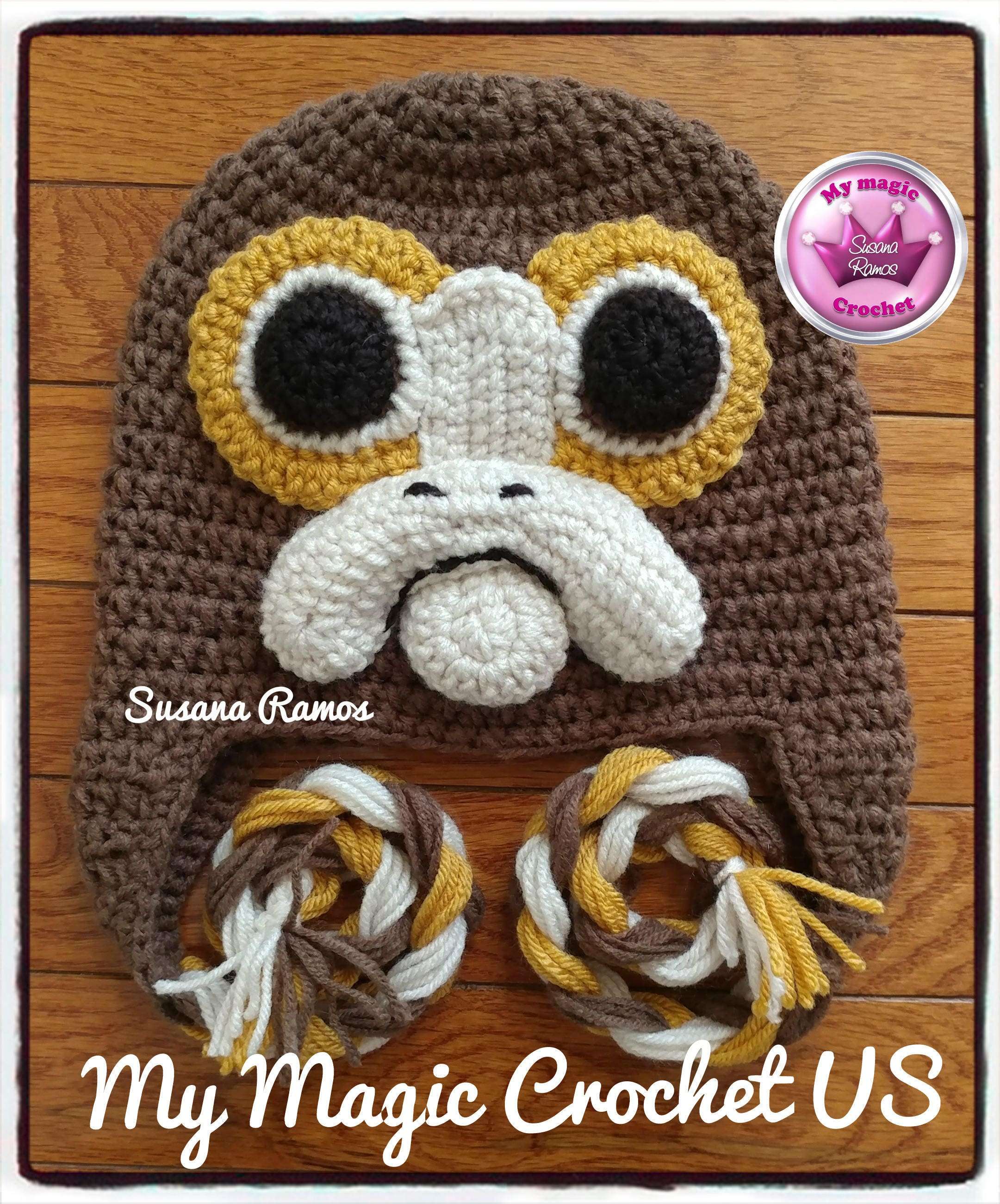 Porg Star Wars The Last Jedi Crochet Hat Made With Etsy