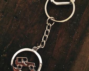 Off Road Vehicle Keychain // Jeep Keychain // Jeep Wrangler Keychain