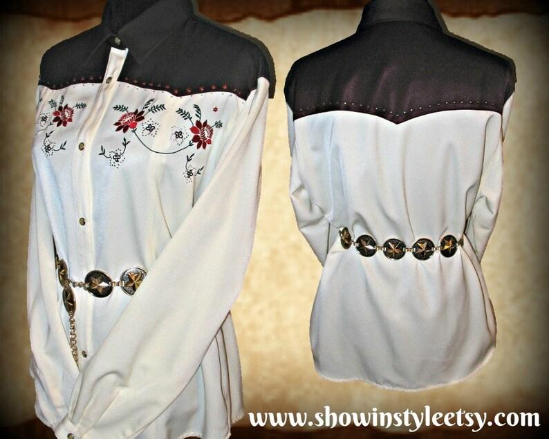 a06fbb736628 Wrangler Vintage Retro Women's Cowgirl Western Shirt   Etsy