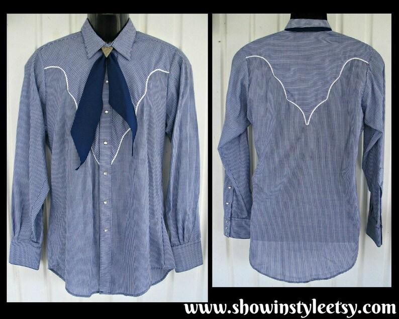 66d3c417 Rockmount Vintage Retro Western Men's Cowboy Shirt Rodeo | Etsy