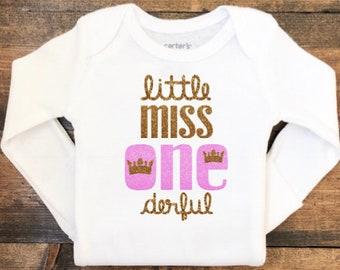 cd759d56 Little Miss One Derful First Birthday Onesie®