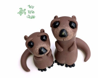 Otters, Set of 2