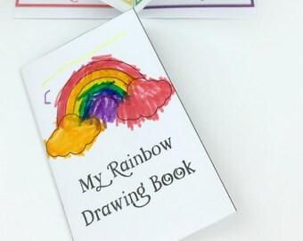 Rainbow Book, Printable Rainbow Activity, Learn Colors Activity, Printable Booklet, Preschool Activities, Rainbow Toy, Colors of the rainbow