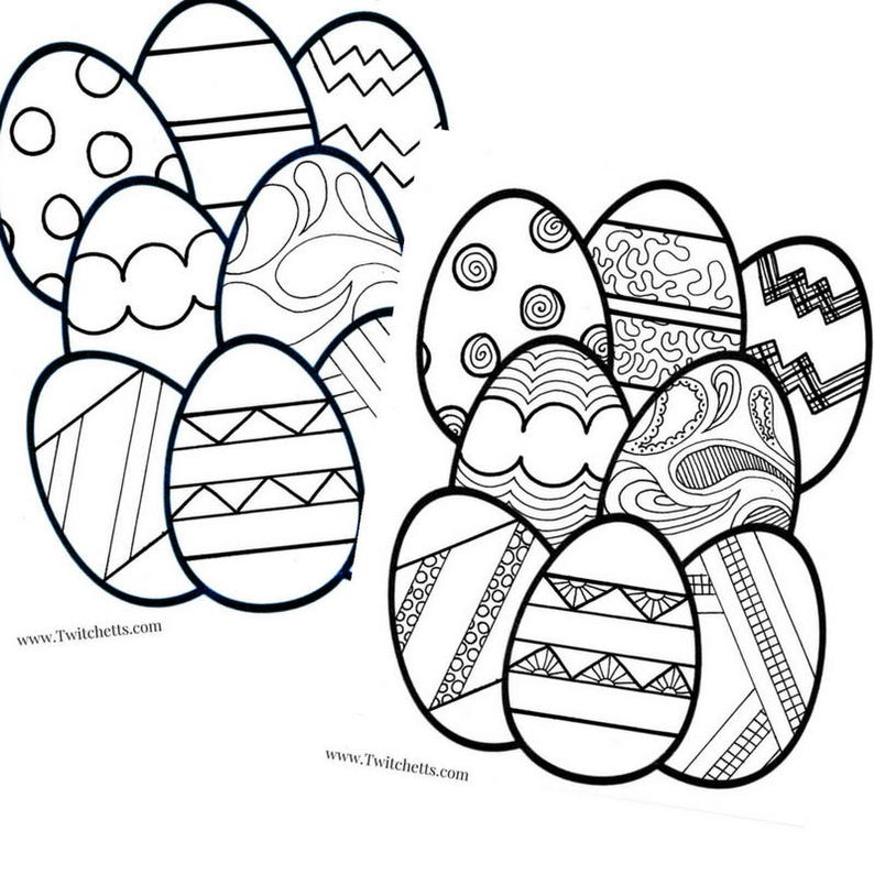 photograph relating to Printable Easter Egg known as Printable Easter Egg Coloring Webpages For Children, Printable Easter Celebration Choose, Printable Easter Instructor Match, Easter Coloring Web pages