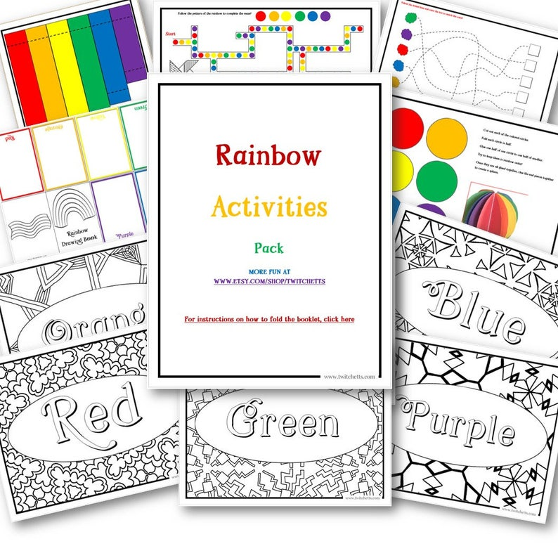 Rainbow Toys Printable Screen Free Activities Preschool and image 0