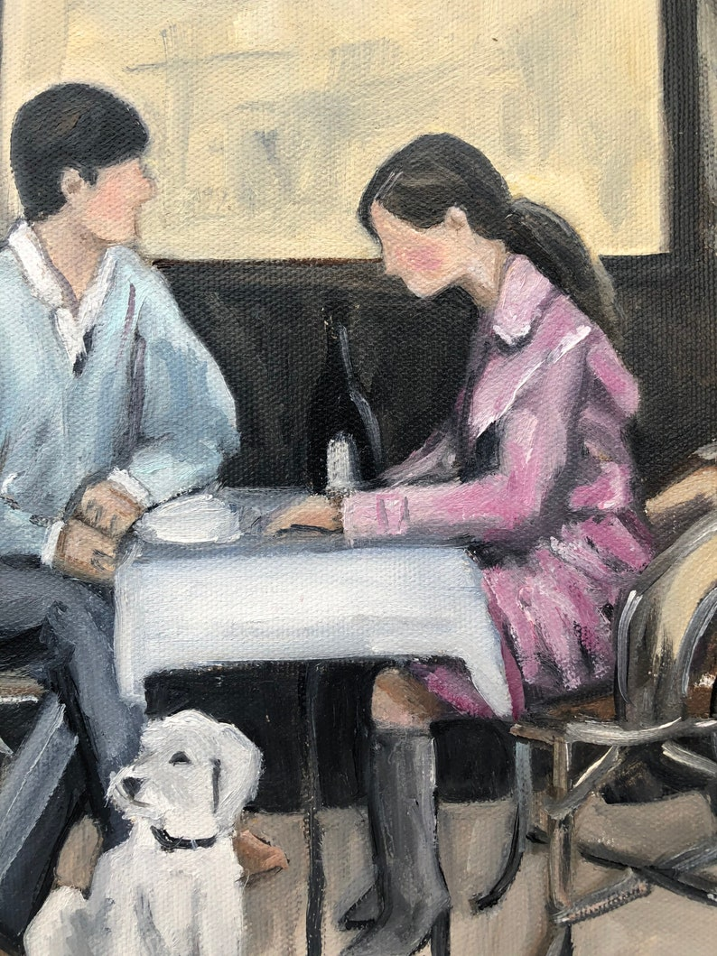 Original Oil Painting /'Young Love