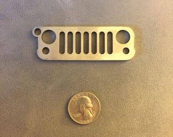 Jeep Wrangler JK Grille Keychain