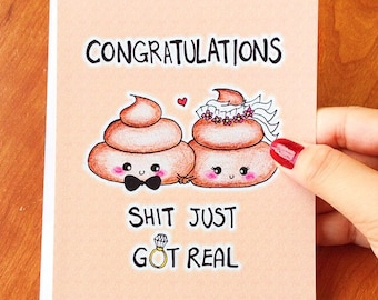 Congratulations card etsy quick view funny wedding card funny wedding congratulations m4hsunfo
