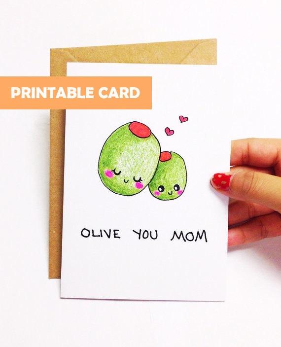 Funny Card For Mom Birthday