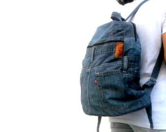 Denim Backpack 33242cfdcd9b3