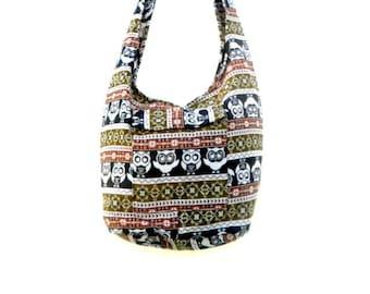 18835a8757d Shoulder Bag Cross Body Bag Handmade Bag Owl Bag Hobo Crossbody Bag Hippie  Boho bohemian bag Purse Gift   Cream Color Sling bag
