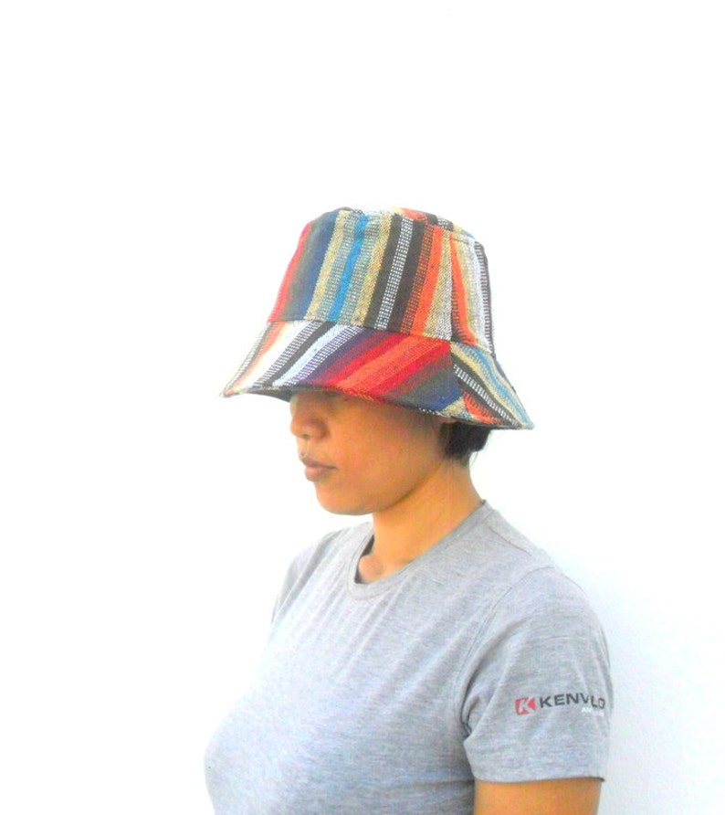 2b3593134561e Bucket Hat Bucket Hat Boho Hat Hemp Hat Hippie Bucket hat