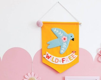 Wild & free banner - **Colours can be customised**