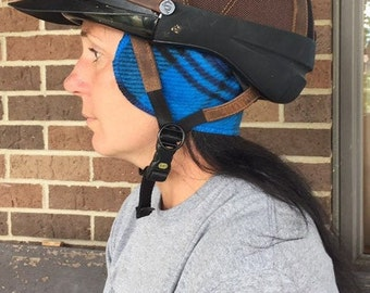 Horse Riding Pirate Skulls Fleece Headband Equestrian Ear Warmer