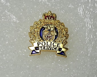 Edmonton Alberta Police Services Lapel pin