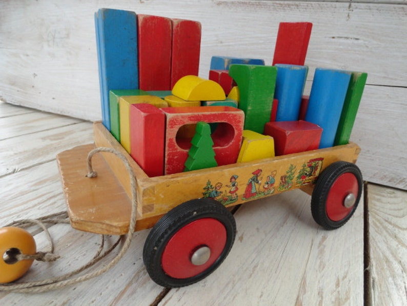 Puzzle Holzpuzzle Wagen Würfel aus Holz *NEU* von Heros Holzspielzeug