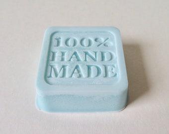 Sea Breeze scented wax melt block, 100% handmade