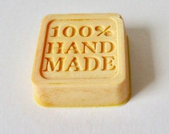 Honeysuckle scented wax melt block, 100% handmade