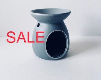 Reduced to clear Grey Ceramic Oil  Burner,