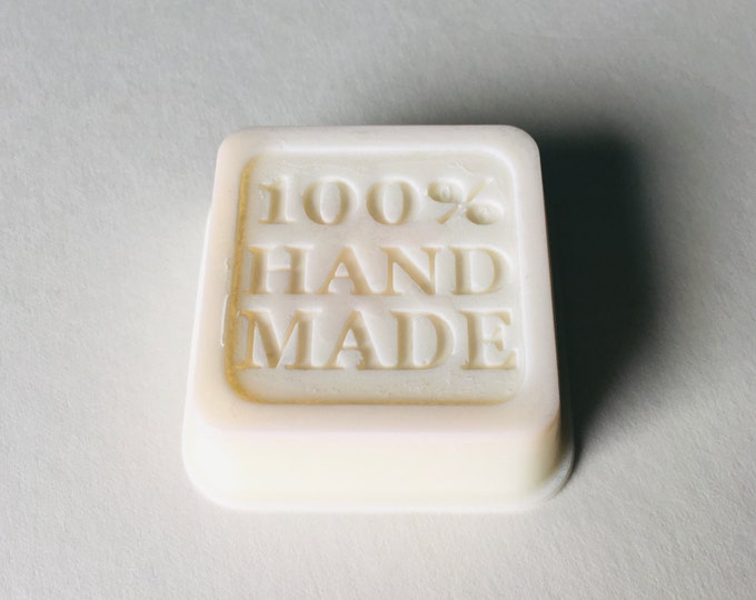 Coconut scented wax melt block, 100% handmade