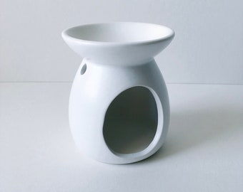 Reduced to clear White Ceramic Oil Burner,