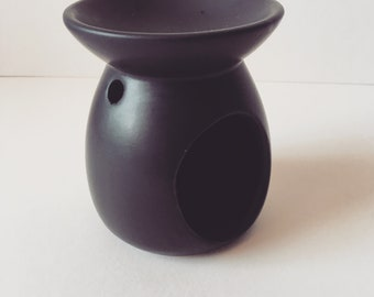 Reduced to clear Black Ceramic Oil Burner,