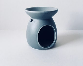 Reduced to clear Grey Ceramic Oil  Burner,