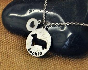 Dachshund Dog necklace, Personalized Dog Necklace,Custom Dog Name Pendant , Dog Charm, Pet Jewelry