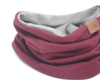 CUSTOMIZE TWIN SCARF  **  Pick your color - Mix and Match - Neck Warmer - Kids Scarf