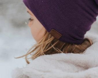 Bambeanie - BOSYBERRY - Slouchy beanie - Slouchy hat - Bamboo hat - Kids hat - Baby Hat - NewBorn Hat